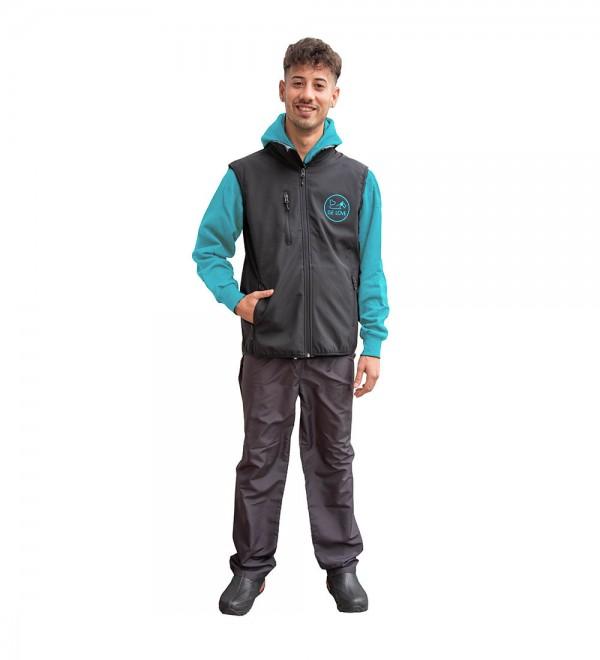 Technical Fabric Woman Vest - Fleece interior
