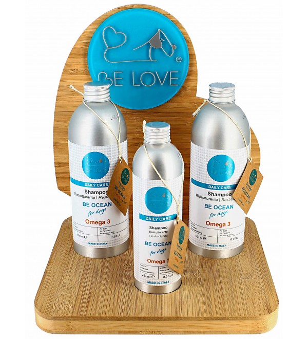 Be Love wooden Display